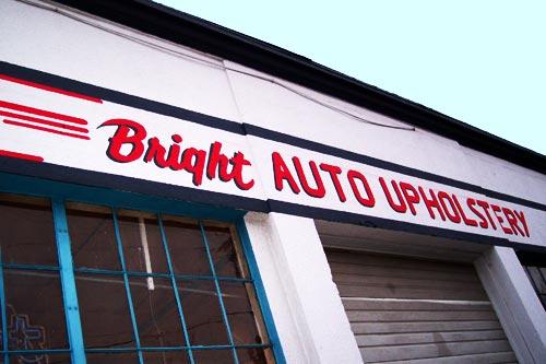 Bright Auto Upholstery